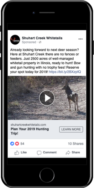 Hunting Awareness Ad