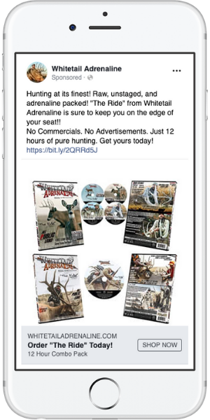Hunting Conversion Ad